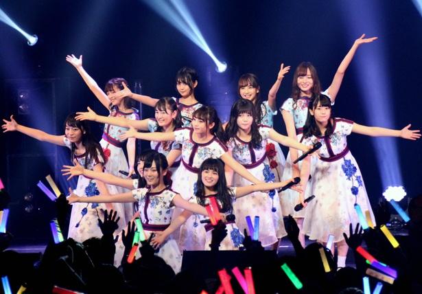 乃木坂46 3期生が大学生プロデュースのイベント「AGESTOCK2017 in TOKYO DOME CITY HALL」に初出演
