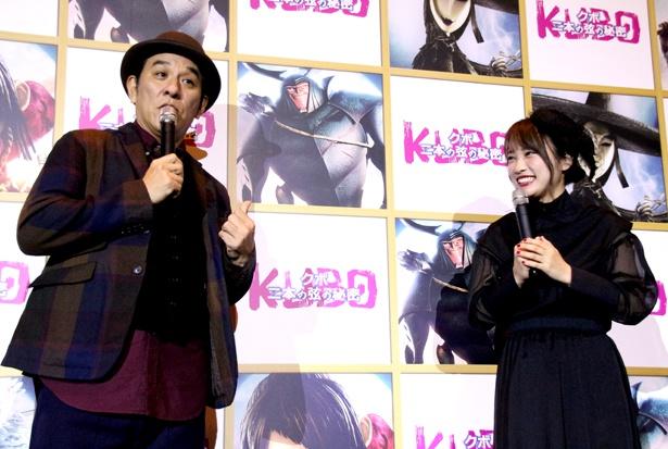 連続テレビ小説「とと姉ちゃん」で親子役を演じた二人が敵対関係に