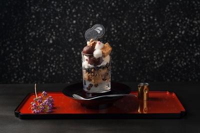 「廚 otona くろぎ」一番人気の「黒蜜きなこパフェ」(1700円)