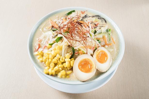 野菜たっぷり豆乳みそラーメン(1000円、ハーフ850円/1日30杯限定)