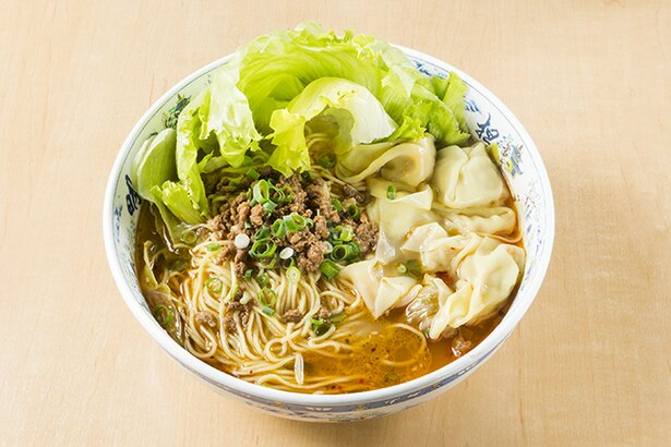 重慶ワンタン入り担担麺(980円/1日30杯限定)