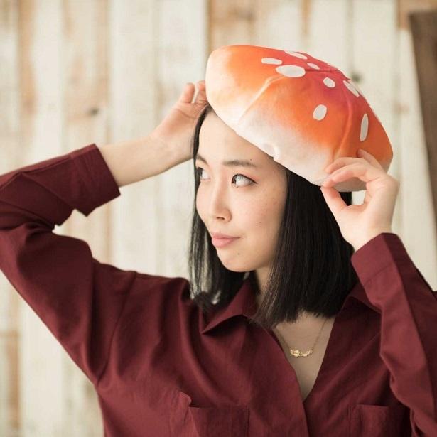 キノコがオシャレな帽子に!ファッションで個性を出したい人にオススメ
