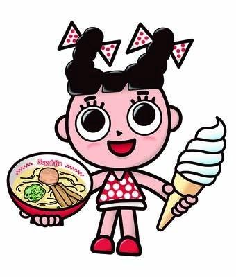 【写真】スガキヤの人気キャラクター「スーちゃん」
