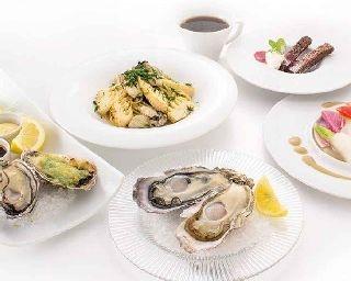牡蠣尽くしのコースが楽しめる「フィッシュ&オイスターバー 西武渋谷店」