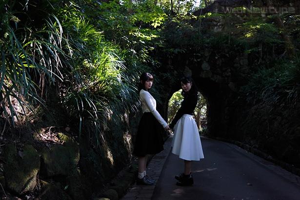 上田麗奈フォトコラム・山と海に囲まれた想い出の場所に2人で【前編】