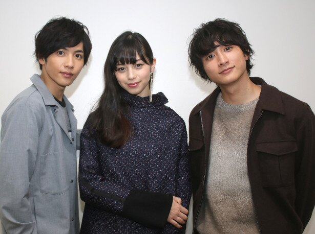 中条あやみ、志尊淳、小関裕太が『覆面系ノイズ』の撮影を振り返った