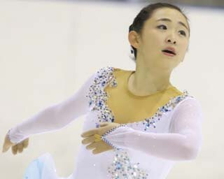 渡辺倫果、東日本ジュニア選手権でのショートプログラムの演技