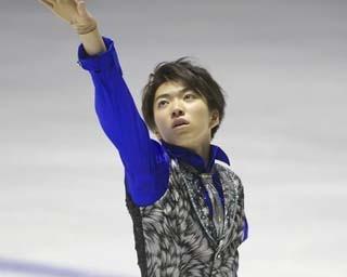 須本光希、西日本ジュニア選手権でのショートプログラムの演技