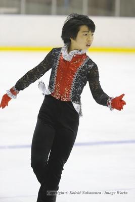 佐藤駿、東日本ジュニア選手権でのフリープログラムの演技
