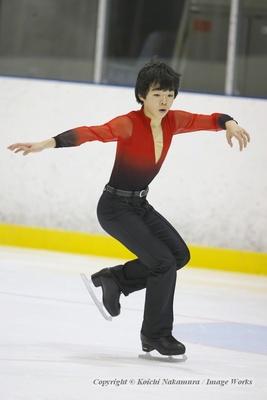 """鍵山優真、東日本ジュニア選手権でのフリープログラムの演技。曲は""""火の鳥"""""""