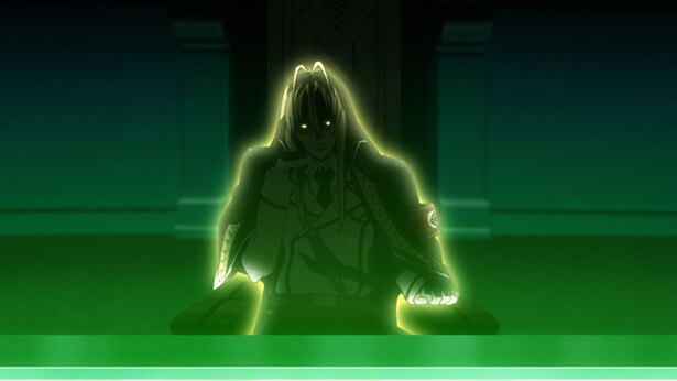 「Dies irae」第7話の先行カットが到着。ついに黒円卓の首領ラインハルトと対面!
