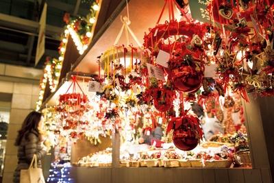 「クリスマスマーケット 2017 六本木ヒルズ」では1000種類以上のXmasアイテムがマーケットに集合