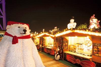 フォトジェニックな写真が撮れる「幸せのホワイトベア」も登場する「ソラマチ クリスマスマーケット 2017」
