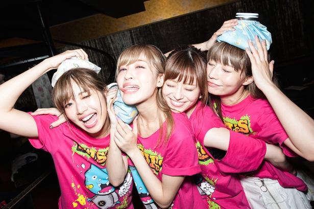 12月27日にアルバム『GIRLS POWER』をリリースするガールズバンド・SILENT SIREN