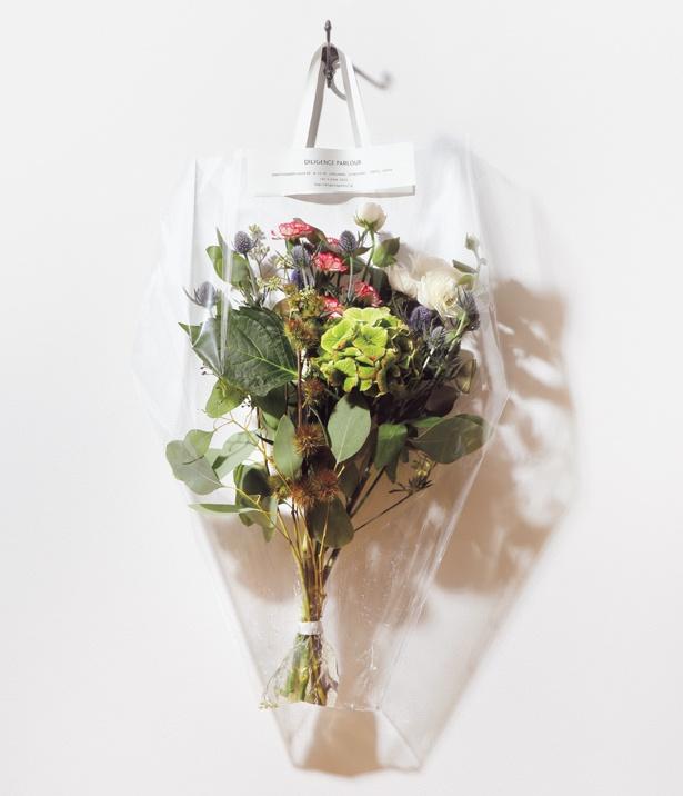 お気に入りの花を手に提げて連れて帰ろう