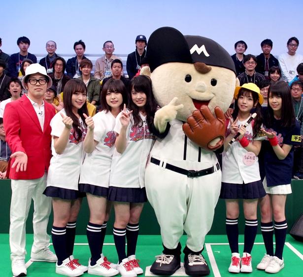 AKB48メンバーに大人気だったホームラン坊や