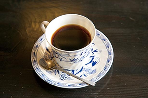 「乙女峠 ふじみ茶屋」の伏流水でいれたブレンドコーヒー400円