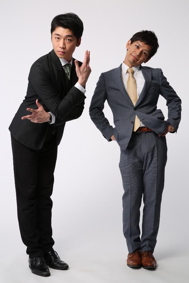 さや香の新山士彦(左)、石井誠一(右)