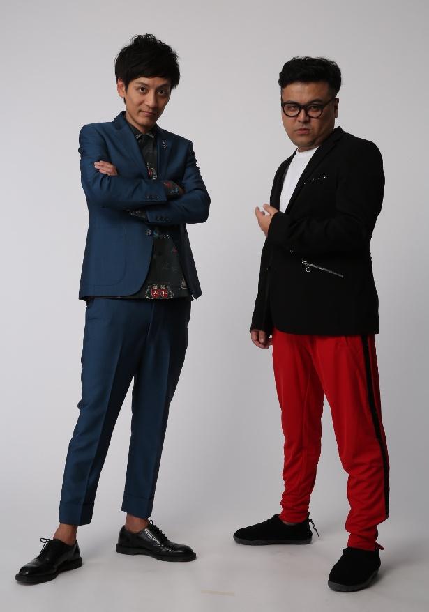 とろサーモンの村田秀亮(左)、久保田和靖(右)