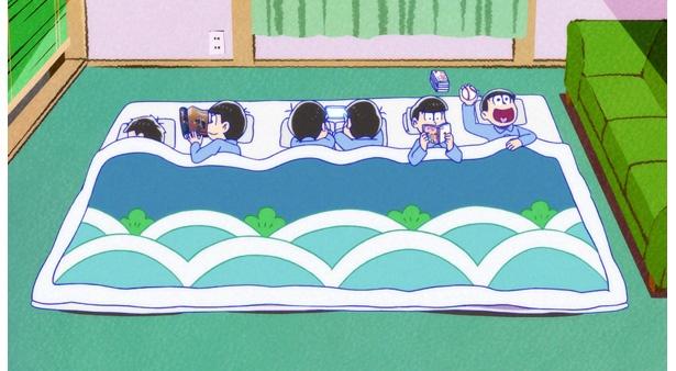 「おそ松さん 第2期」第9話の先行カットが到着!