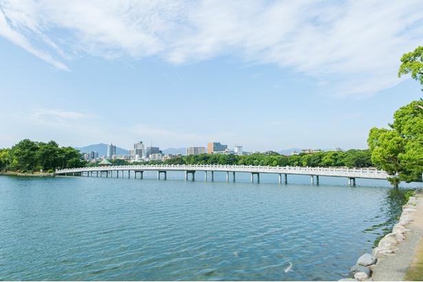 福岡市民の憩いの場となっている「大濠公園」