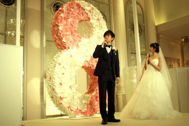 全国のプレ花嫁&花婿の「8年後の未来」への想いを集めた特製ツリー