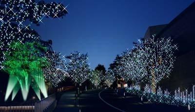 赤坂サカス全体が包み込まれる(写真はイメージ)