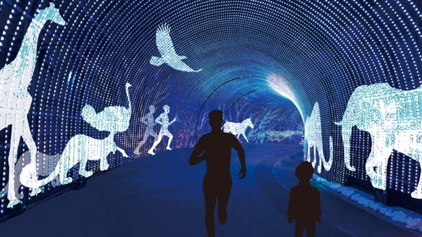 Wonder tunnel-ヒカリの旅-/ネスタ イルミナ~光のさんぽみち~