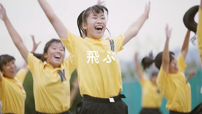 新CM「日本縦断 うちの学校のポカリダンス」篇の予告編 12