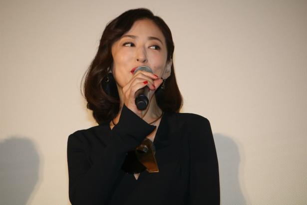 ラスト役の松雪泰子