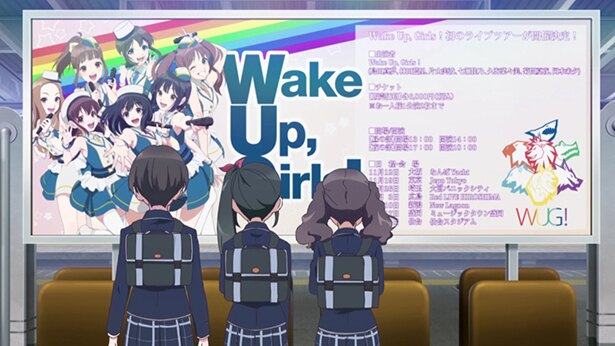 「Wake Up, Girls! 新章」第9話の先行カットが到着。新曲は決まるのか、そしてツアーチケットは売れるのか…?