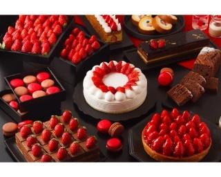 毎年恒例のビュッフェ「ホテルでいちご狩り」第1弾のテーマはストロベリー&ショコラ!
