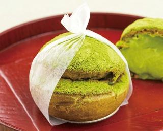 抹茶好きにはたまらない濃厚なクッキーシュー「岩苔」
