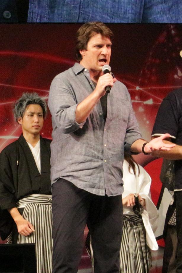 TVドラマ「キャッスル/ミステリー作家のNY事件簿」シリーズで主役を務めたネイサン・フィリオン