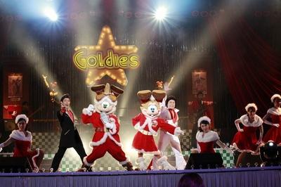 ラッキーラビットたちによるショー「クリスマスデブリディ」。時間など詳細は、HPでチェック!