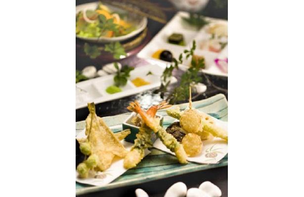 天ぷらランチ「六条御息所」(3500)