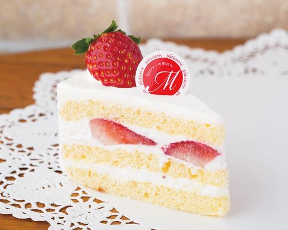 みんなが笑顔になれる王道の「ショートケーキ」