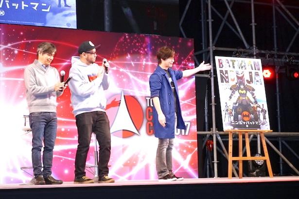 """東京コミコンに""""ファビュラス""""叶姉妹も登場!日本流バットマンのこだわりが語られた「ニンジャバットマン」ステージレポート"""
