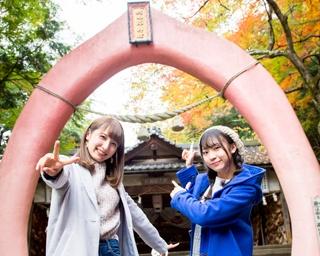 たくさんのコンクリート像が並ぶ桃太郎神社を参拝!