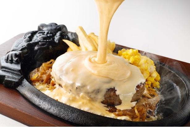 定番メニュー、合挽きの「ビリーハンバーグ」へのトッピングもイチオシ