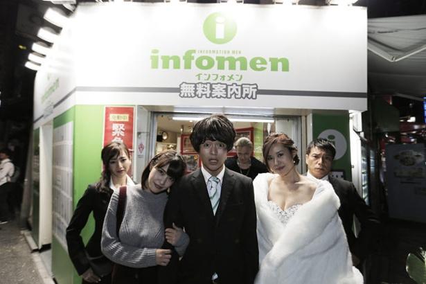 大阪・ミナミエリアだけで7店舗を構える「インフォメン」。映画は本物の店舗で撮影