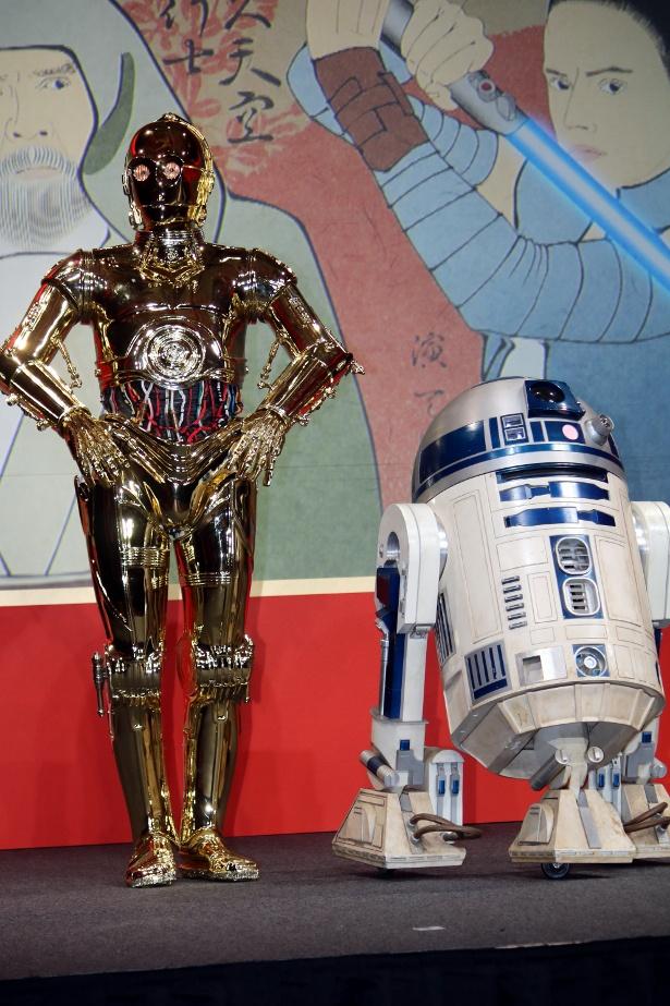 R2-D2とC-3POの名コンビ