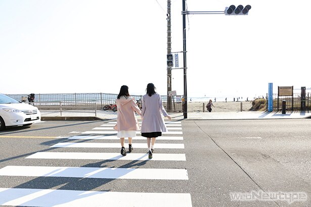 上田麗奈フォトコラム・山と海に囲まれた想い出の場所に2人で【後編】