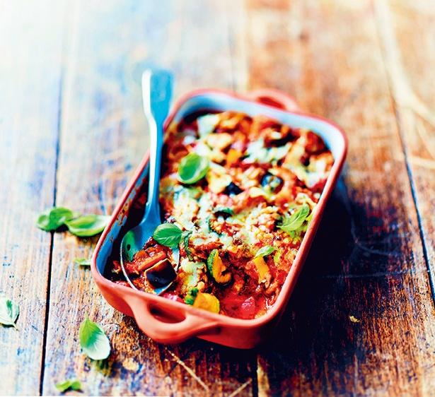南仏野菜がカラフルなグラタン
