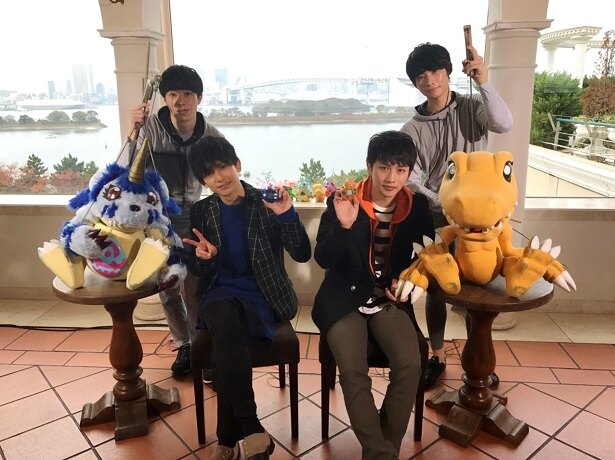 大谷誠、橋本祥平、松本岳、吉原秀幸(写真左より)