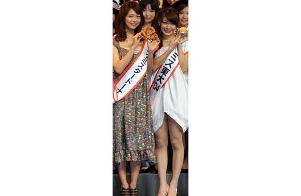 八田亜矢子のスレンダーな美脚にメロメロ