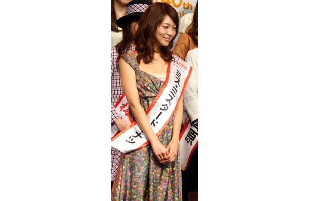 この日、花柄のワンピースで登場した相武紗季