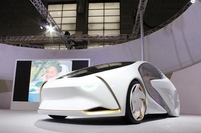 """トヨタが""""未来の愛車""""を提案する「TOYOTA Concept-愛i(コンセプト・アイ)」シリーズの最新モデル"""