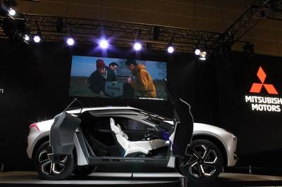 SUV+EVに最新のAI技術が融合した「MITSUBISHI e-EVOLUTION CONCEPT」