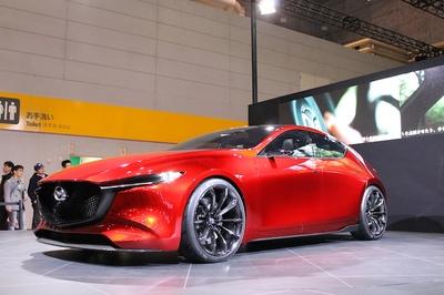マツダの次世代の技術と洗練されたデザインが融合した「Mazda 魁 CONCEPT」